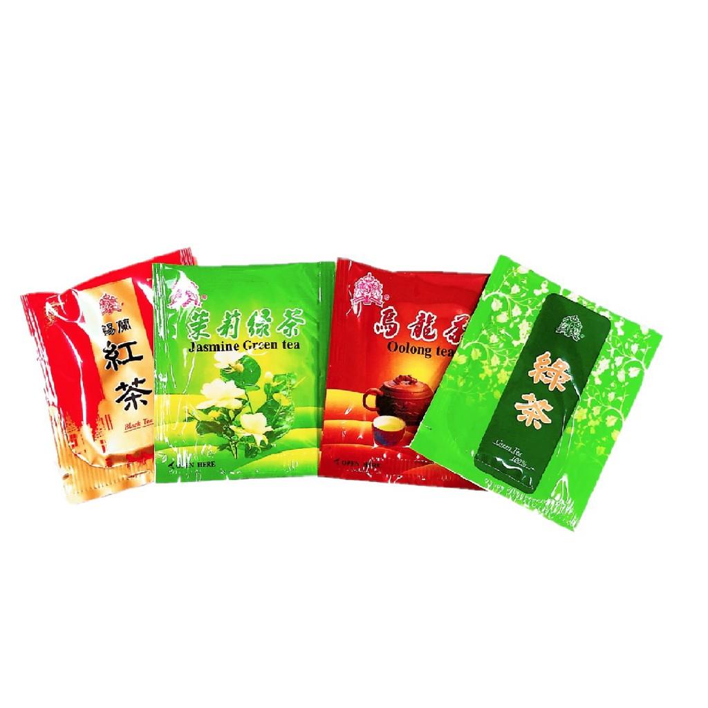 東爵茶品  茉莉綠茶/錫蘭紅茶/綠茶/烏龍茶包(2gx10包)