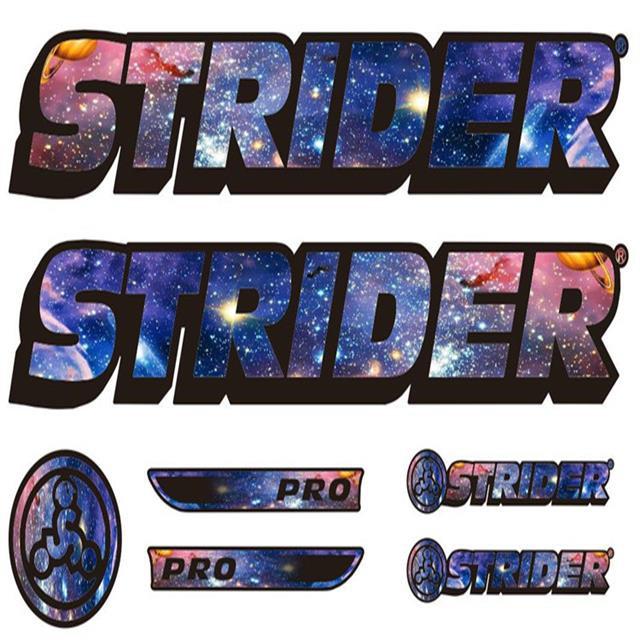 🌈公路車貼⚡STRIDER平衡車架改裝星空貼紙strider改貼紙滑步車水彩貼紙