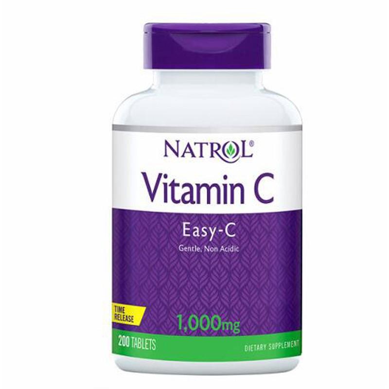 Natrol 納妥維生素C 1000毫克緩釋錠(食品) 200錠 CA224443