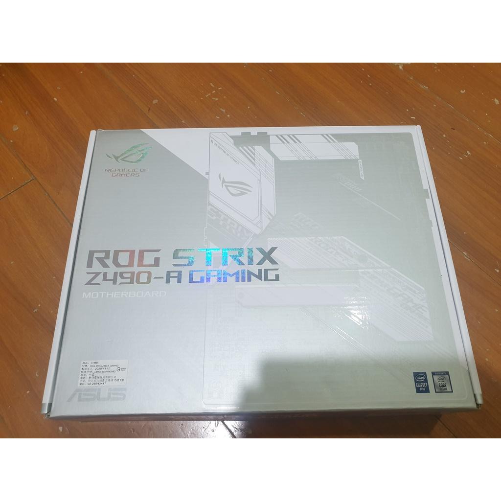 全新 華碩 ROG STRIX Z490-A GAMING 主機板