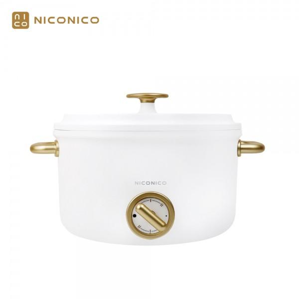 【NICONICO奶油鍋系列】2.5L日式美型陶瓷料理鍋 NI-GP932