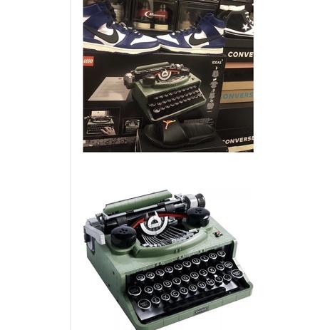 全新 LEGO® Ideas 重磅大作復古打字機 21327 樂高