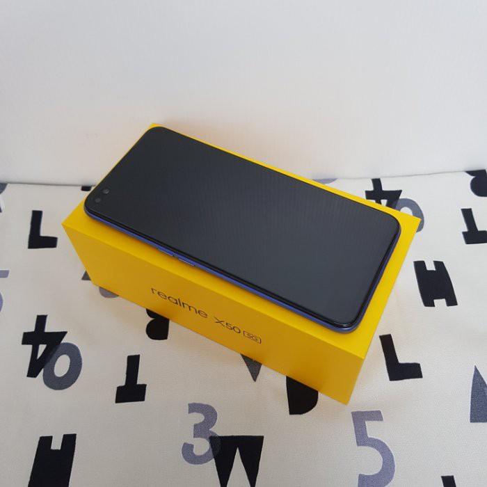 二手機-台揚通訊~ realme X50 5G (8GB/128GB) 6.57吋 5G ~極地色 (61419)