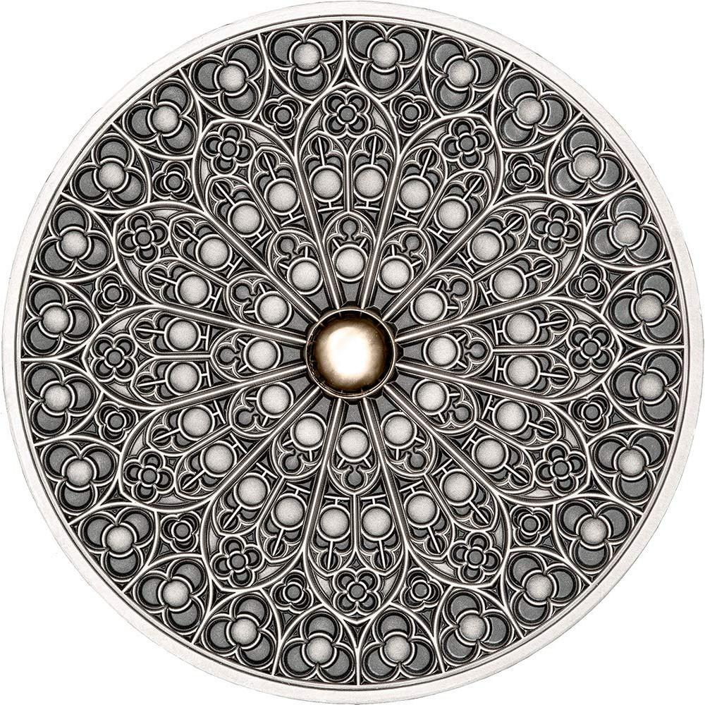 預購 - 2019斐濟-曼荼羅藝術系列-哥德-3盎司銀幣