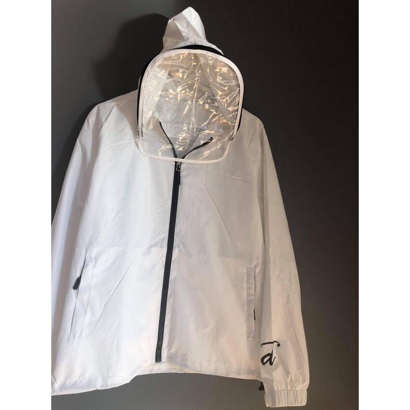 防疫期間必備👍🏻可拆面罩式機能防護夾克