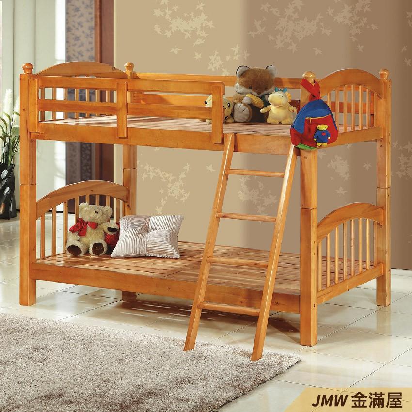 [免運]雙層床 上下舖 雙人5尺 標準單人 全實木 鐵床鋪-E179-3