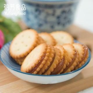 《裕芳食品》鹹蛋麥芽餅(奶蛋素) 臺中市