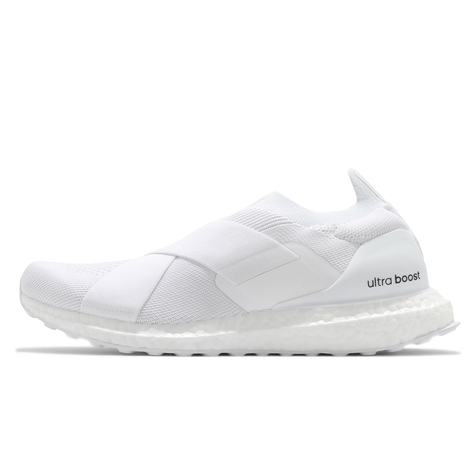 adidas 休閒鞋 Ultraboost Slip On DNA 白 愛迪達 Boost 女鞋 ACS H02815