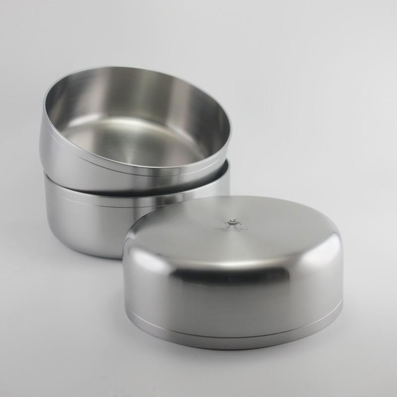 18-10不銹鋼盆 攪拌盆304烤盤 淺盆復合一體成型加熱盆 18厘米