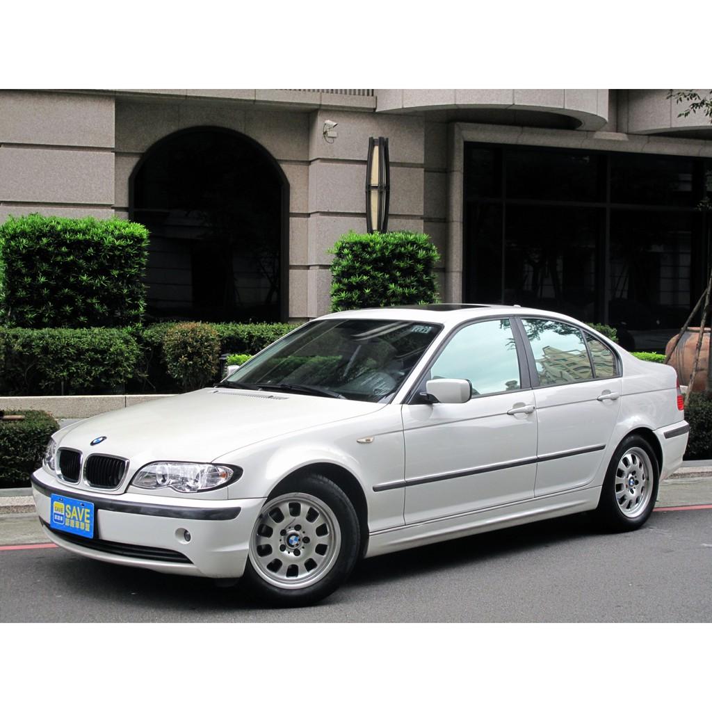 小改款2.0 E46 318i全車無待修 回家不用多花錢 一台能讓你圓夢的BMW