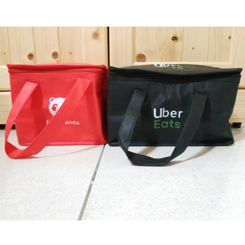 【現貨 全新品】ubereats foodpanda 手提保溫 便當袋 餐盒袋 手提袋