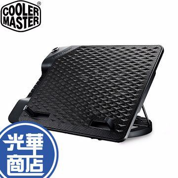 Cooler Master 酷碼 NotePal Ergostand III 支架式 散熱座 6段式 23cm散熱風扇
