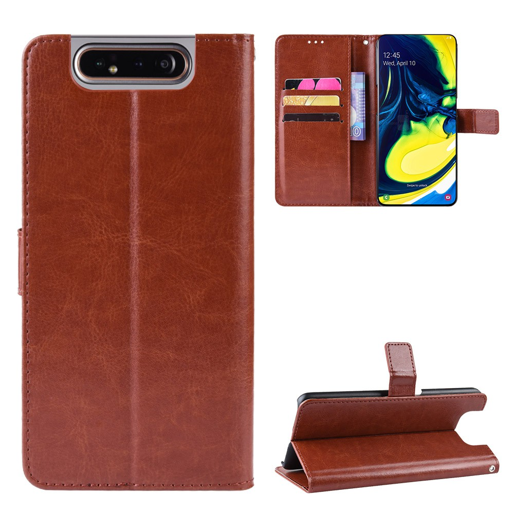 三星 Galaxy A10 A20 A30 A40 A50 A60 A70 A80 A90 Case Pu 皮革錢包卡槽