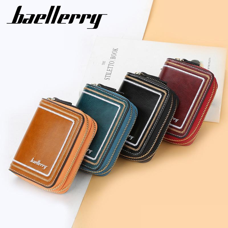 Baellerry 拉鍊零錢口袋女士錢包零錢包女士錢包禮物