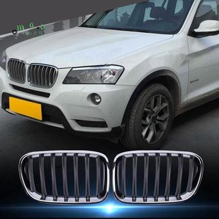 汽車前保險槓腎形格柵汽車配件Front Gril用於BMW X3 F25 2011-2013
