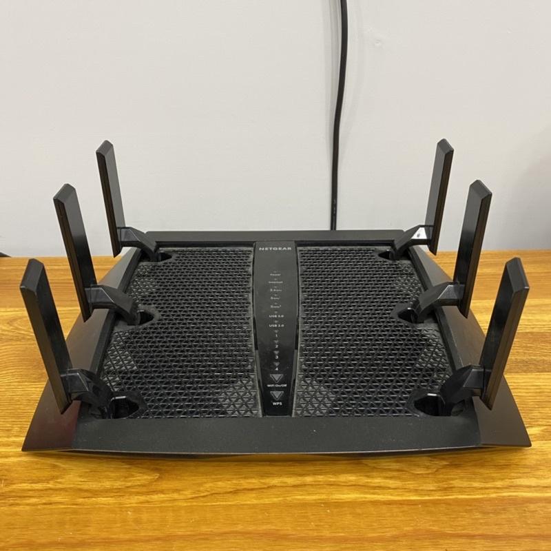 【二手】NETGEAR NIGHTHAWK X6S R8000P AC4000 WiFi 分享器