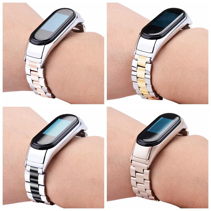 【當天出貨】小米4手環 錶帶 雙彈簧米蘭磁吸 錶帶 金屬腕帶 小米手環3替換腕帶  手環錶帶 防生锈 防水 CP值超高