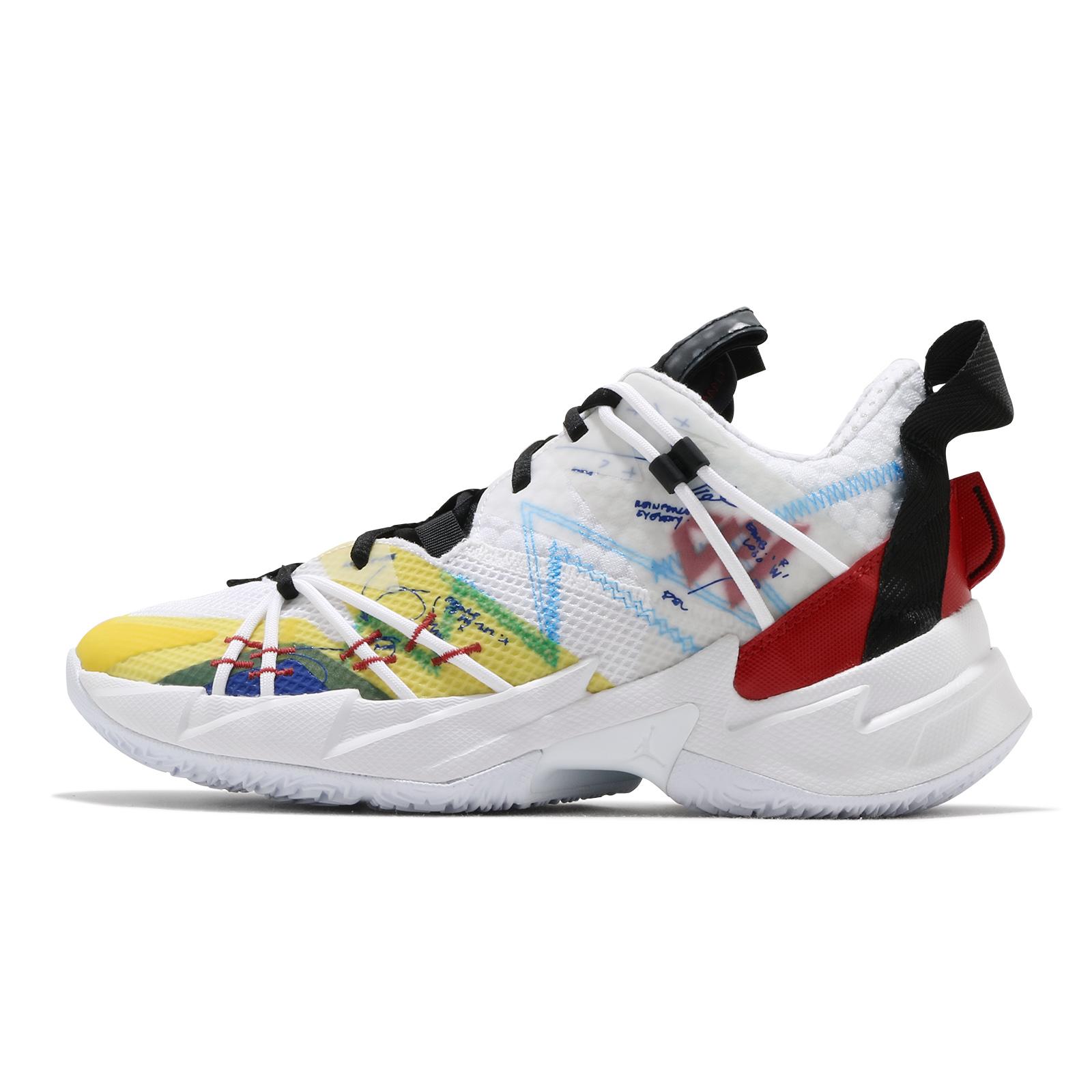 Nike 籃球鞋 Jordan Why Not Zer0.3 SE 白 黃紅 彩色 男鞋【ACS】 CK6612-100