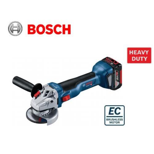 BOSCH 博世 新款上市 GWS 18V-10 18V鋰電免碳刷砂輪機 無刷研磨機 8.0Ah 慶祝快閃活動 原廠保固