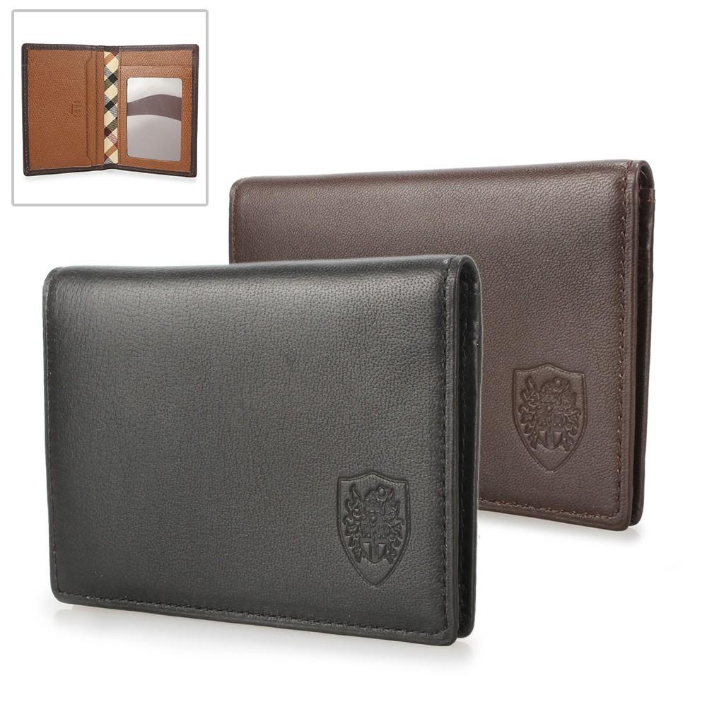 DAKS 家徽LOGO軟皮革證件名片夾(二色)【購名牌】