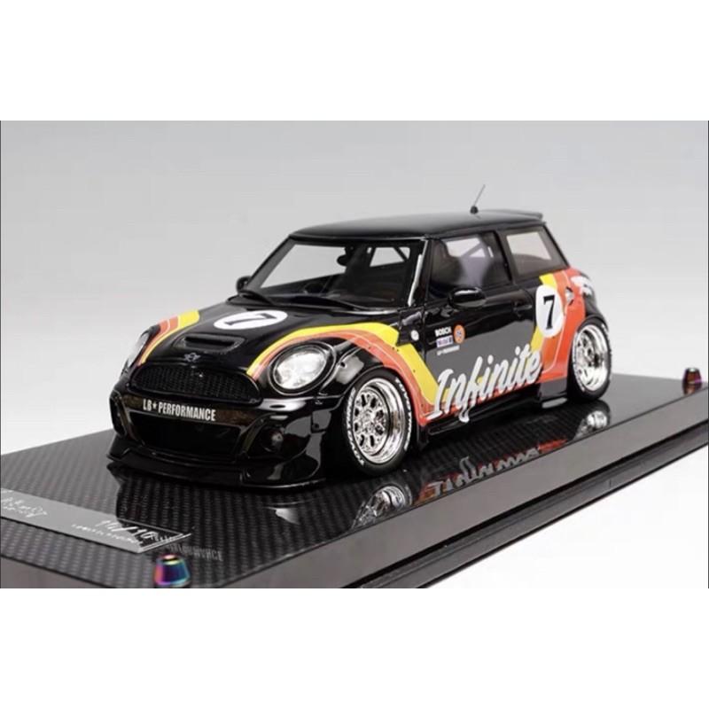 BuyCar模型車庫 1:18 LB Mini Cooper 全球限量10台 樹酯模型車