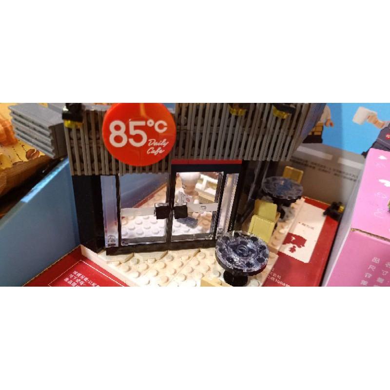 85度c 咖啡廳造型積木(不挑款)