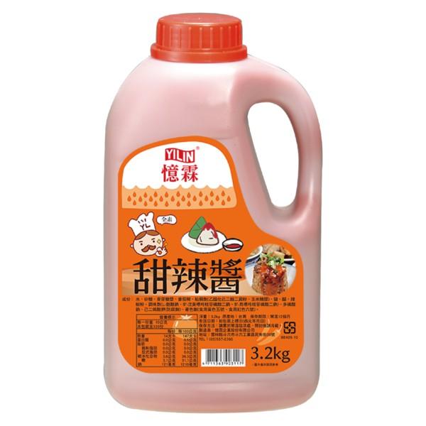 憶霖 甜辣醬3.2kg