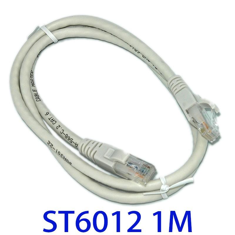 fujiei CAT.6高速網路線1M  純銅多股8心網路線 UTP材質 (台灣製)