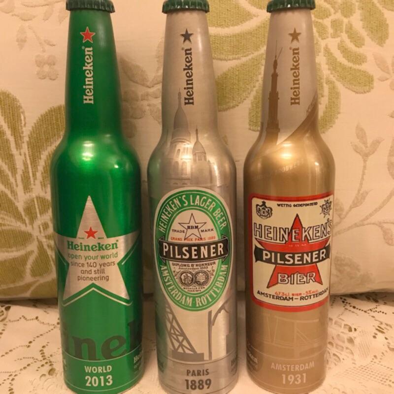 海尼根140年紀念瓶