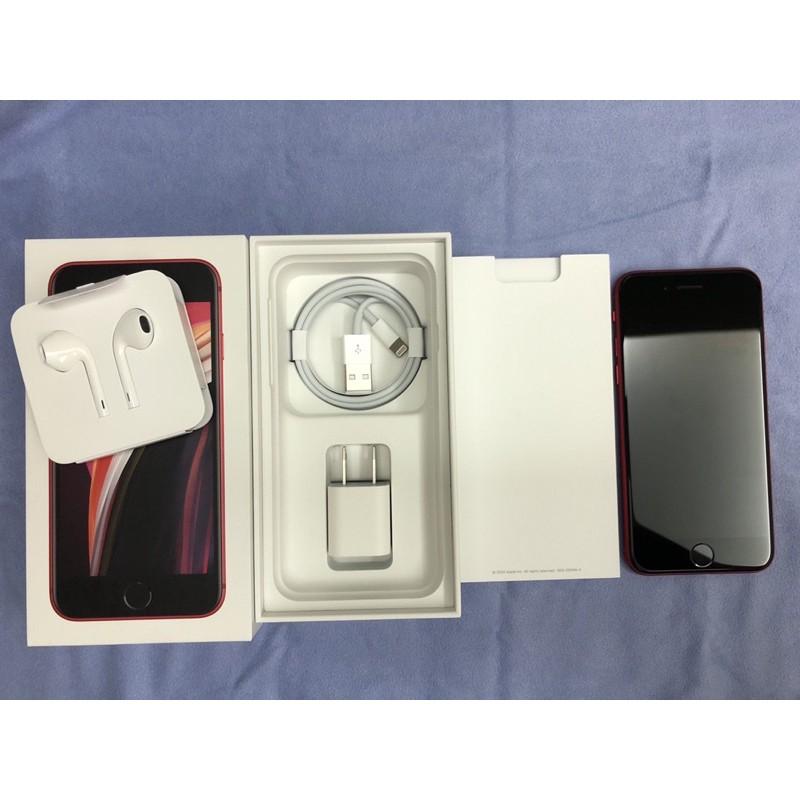二手 iPhone SE2 紅色 128G 可議價❤️