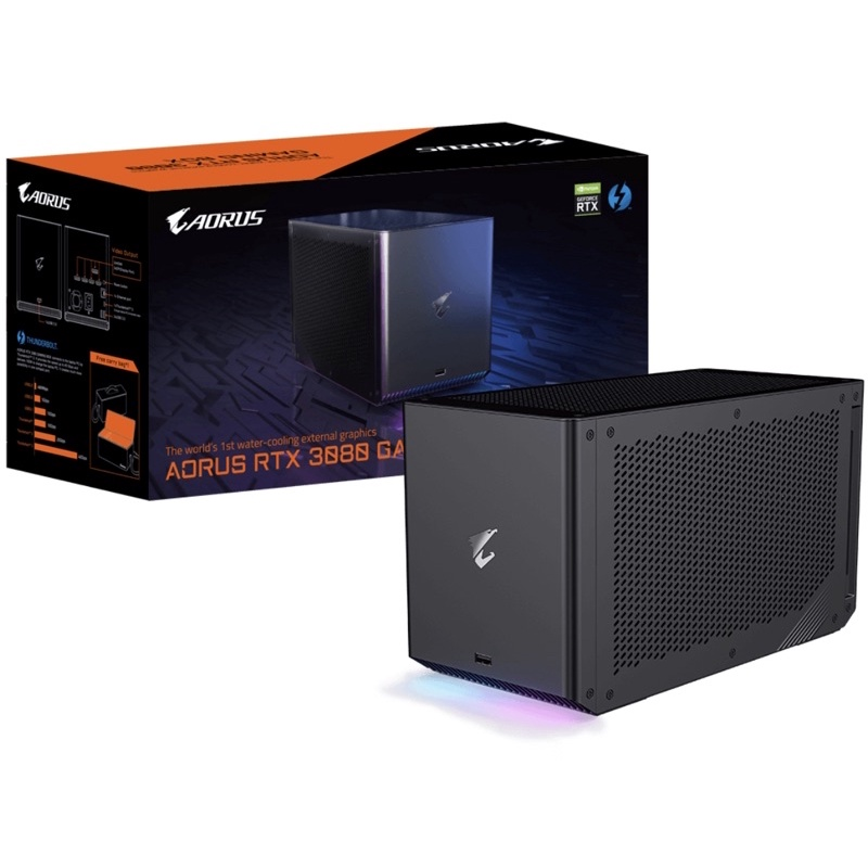 GIGABYTE技嘉 AORUS RTX3080 GAMING BOX 水冷/Thunderbolt 3/外接盒/