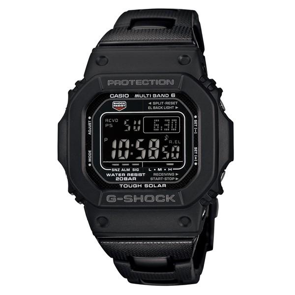 【現貨】 全新 CASIO G-SHOCK GW-M5610BC-1 複合式錶帶 太陽能 六局電波 防水200米