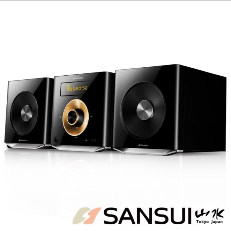 山水SANSUI 數位式藍芽/USB/CD/FM床頭音響組(MS-616)