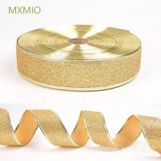 Mxmio 裝飾聖誕樹聖誕節家庭聚會裝飾禮品包裝 DIY 蝴蝶結 200 * 5CM 緞帶 /  多色