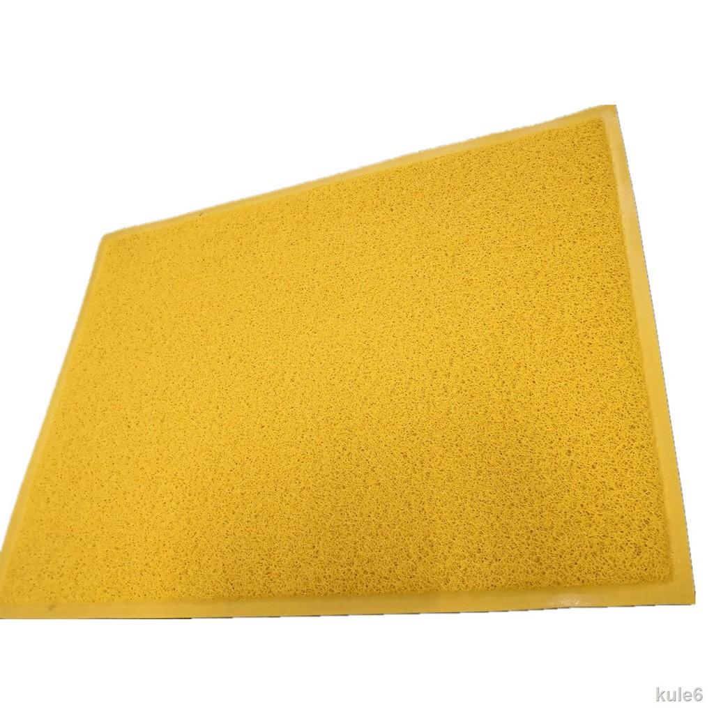 ♝▪金黃色地墊風水地毯出入平安入戶門墊腳墊防滑歡迎光臨迎賓墊定制