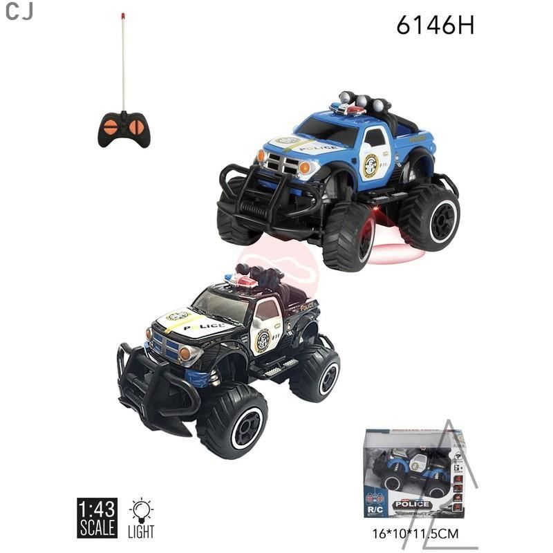 迷你小型遙控車 1:43遙控車 悍馬 警車