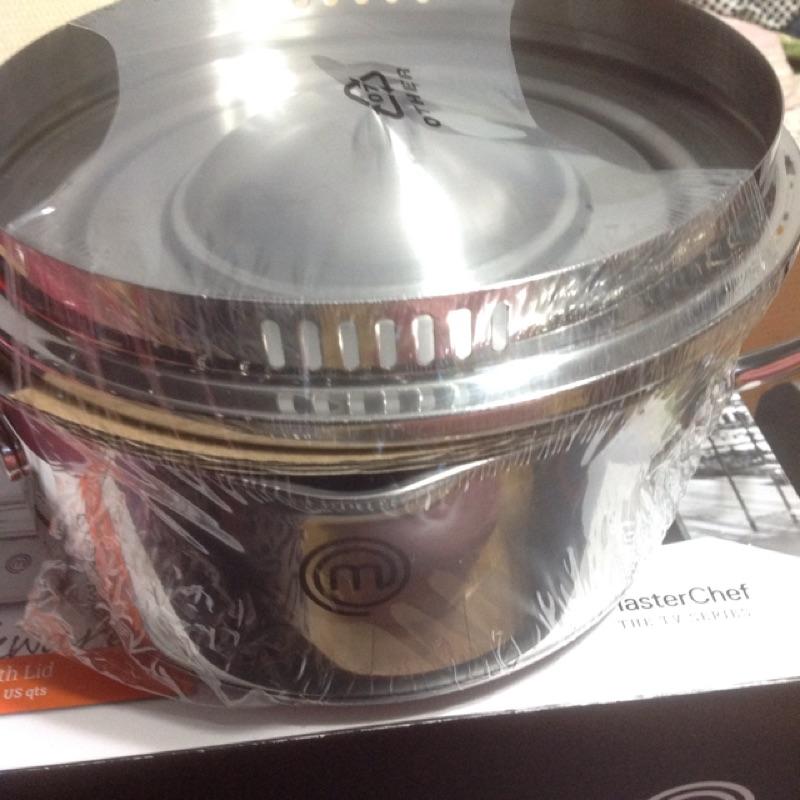 現貨‼️MasterChef20公分不鏽鋼雙柄湯鍋(附蓋)2.9公升