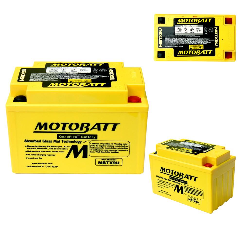 【泰格重車】MOTOBATT KYMCO SHADOW 300 GTi 黃色電池 黃色電瓶 MBTX9U 強效電池