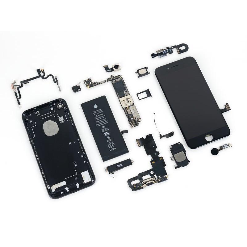 119-IPHONE7更換電池/螢幕/前鏡頭/後鏡頭/聽筒/尾插模組/HOME鍵/維修主機板-各種故障30分鐘維修