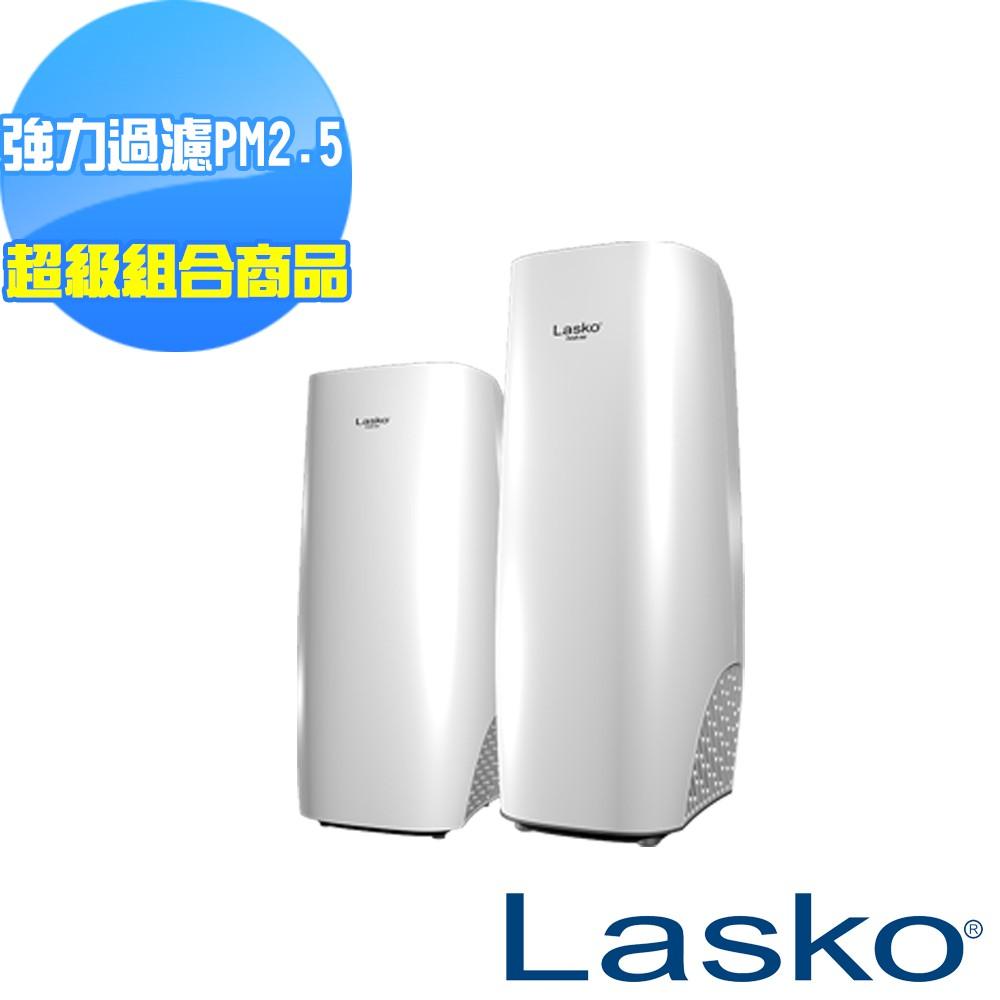 【美國 Lasko】白淨峰高效節能空氣清淨機超級組合組-免運費