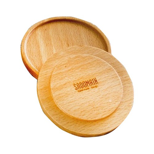 【仙德曼】輕巧山毛櫸馬克杯蓋/杯墊《屋外生活》木墊 木蓋 木杯蓋 野餐