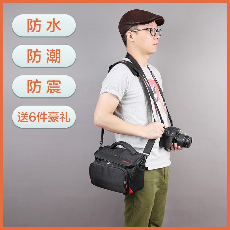 佳能相機包單反單肩便攜攝影數碼復古M50M100M6微單80D200D800D