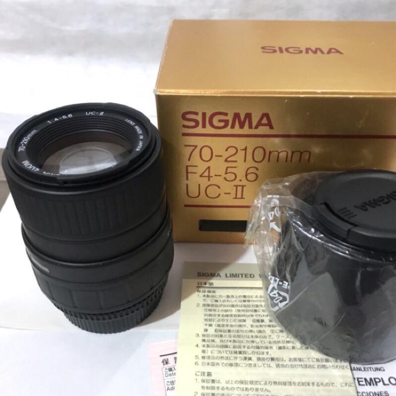 Sigma 70-210mm/f4-5.6(for nikon)uc-ll