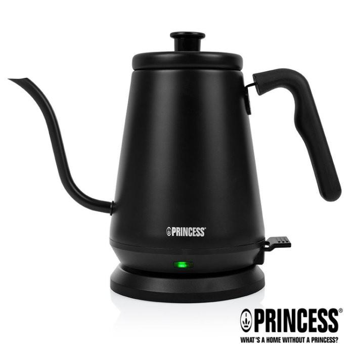 PRINCESS 荷蘭公主0.8L 手沖咖啡 細口壺 / 快煮壺 236036 (消光黑)