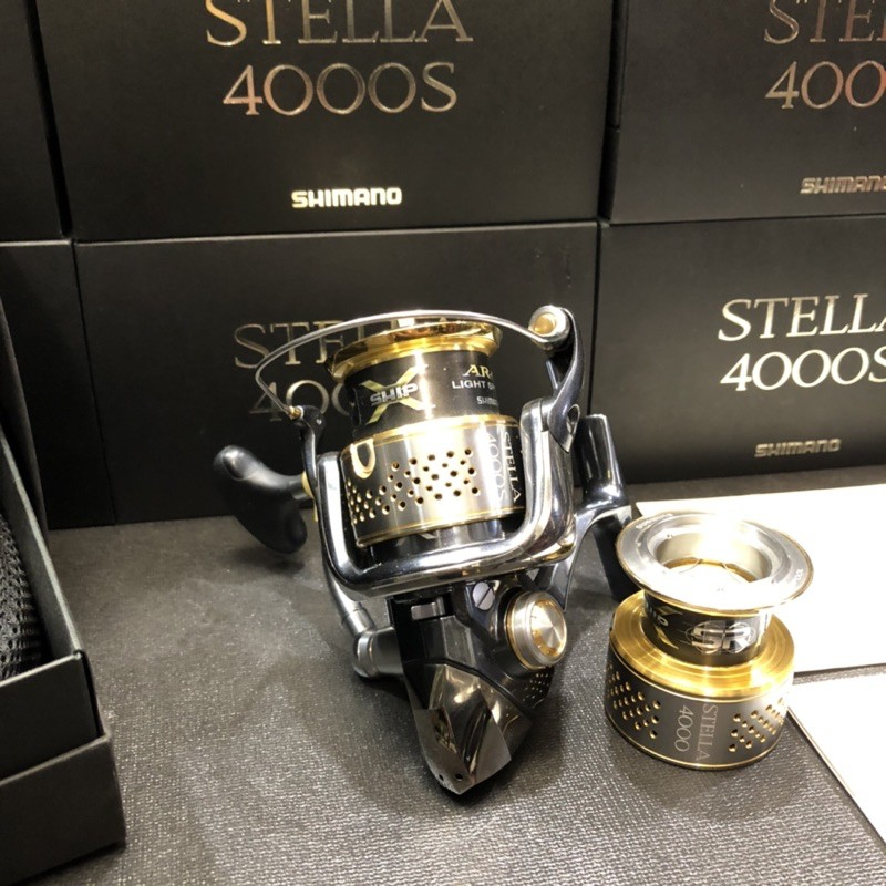 「暴扯族」SHIMANO-STELLA.4000S.滿天星'百孔/絕版雙線杯紀念款