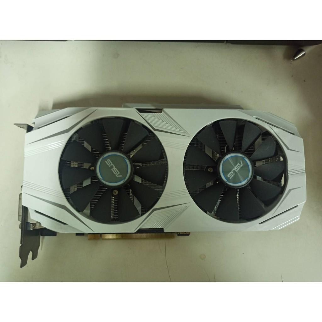 4@ASUS 華碩 DUAL-GTX1060-O6G GTX1060 DDR5 6G顯示卡<二手良品>