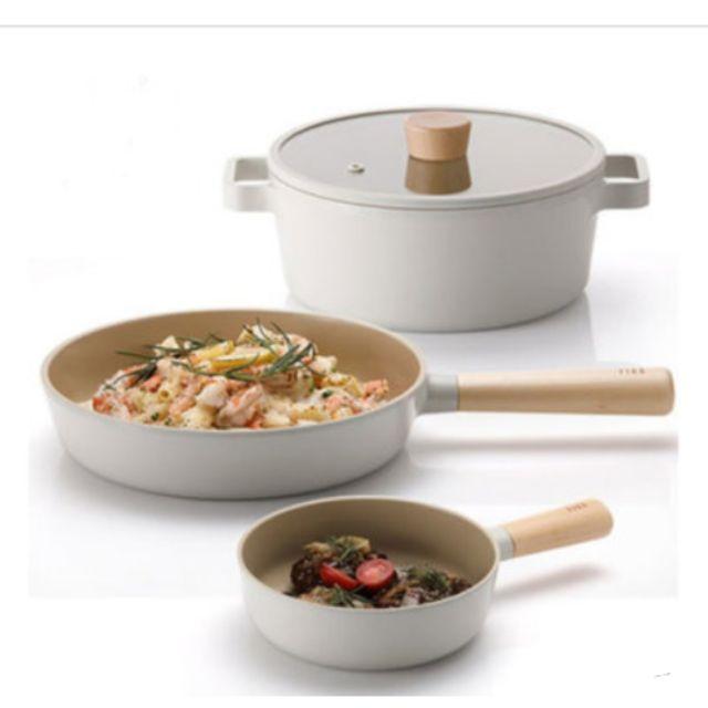 [NEOFLAM]Fika🇰🇷鍋具三件組   NEOFLAM不沾鍋 FIKA系列 IH 可用