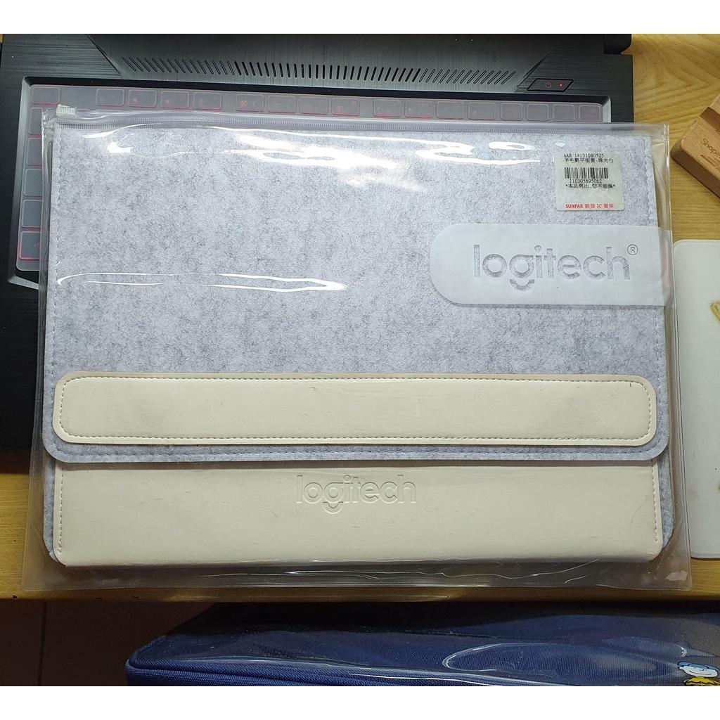 Logitech羅技_羊毛氈平板(13吋筆電)鍵盤套(白)