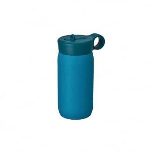 日本 KINTO 兒童雙層不鏽鋼保溫瓶 (藍綠)