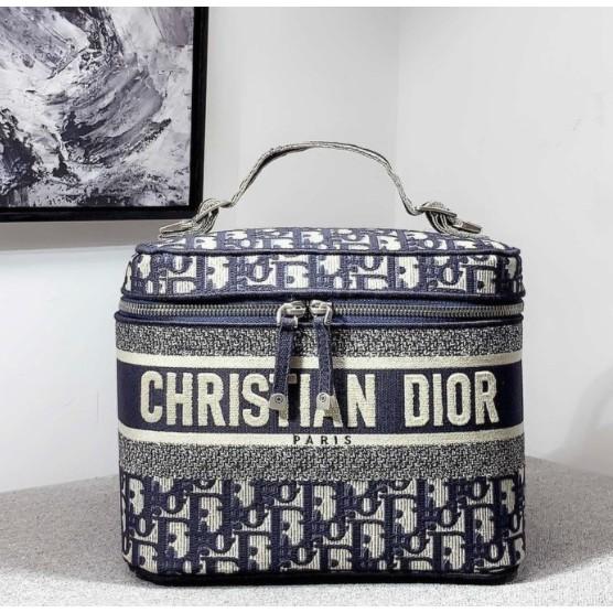 專櫃 全新 正品 Doir 迪奧 Oblique系列  復古 印花老花最火  化妝包 箱包 手提包 萬用包 超大容量